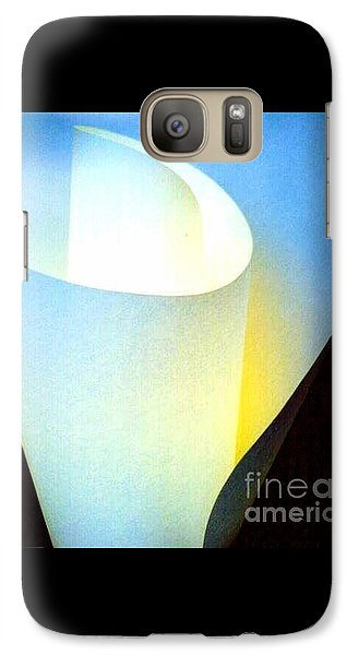 Galaxy Case featuring the photograph A Shade Of Illumination by Michael Hoard