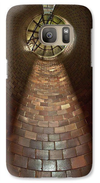 Galaxy Case featuring the photograph A Silo Of Light From Above by Jerry Cowart