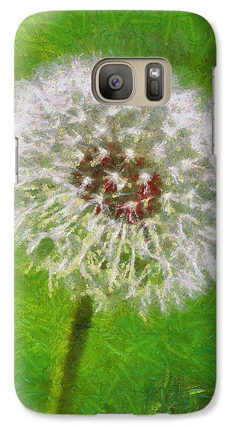Galaxy Case featuring the painting A Simple Beauty by Joe Misrasi