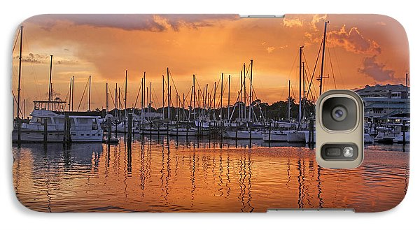 Galaxy Case featuring the photograph A Sky Full Of Wonder - Florida Sunset by HH Photography of Florida