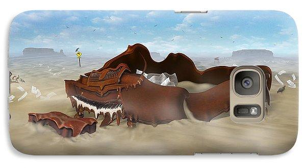 Buzzard Galaxy S7 Case - A Slow Death In Piano Valley by Mike McGlothlen
