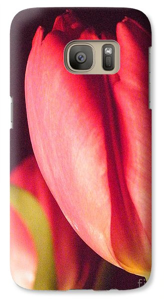 Galaxy Case featuring the photograph A Soft Linearity  by Brian Boyle