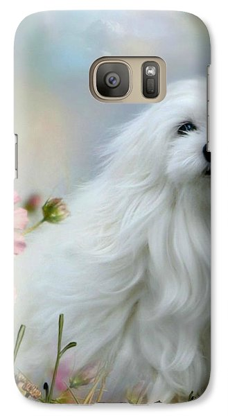 Galaxy Case featuring the photograph A Soft Summer Breeze by Morag Bates