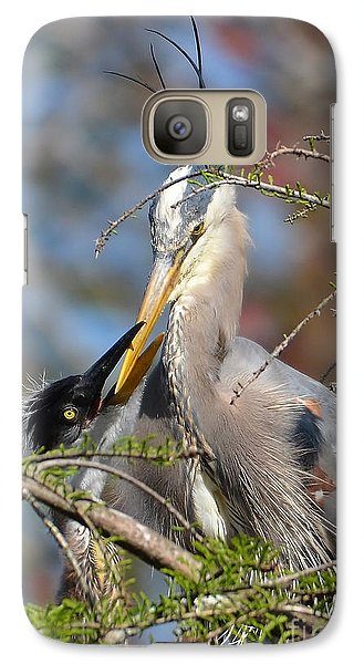 Galaxy Case featuring the photograph A Special Moment by Kathy Baccari