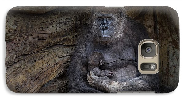 Gorilla Galaxy S7 Case - A Special Moment by Larry Marshall