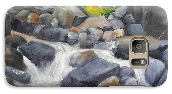 Galaxy Case featuring the painting A Special Place   by Ellen Canfield