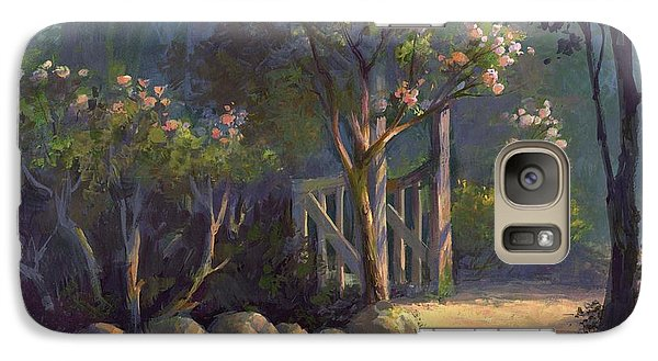 Galaxy Case featuring the painting A Special Place by Michael Humphries