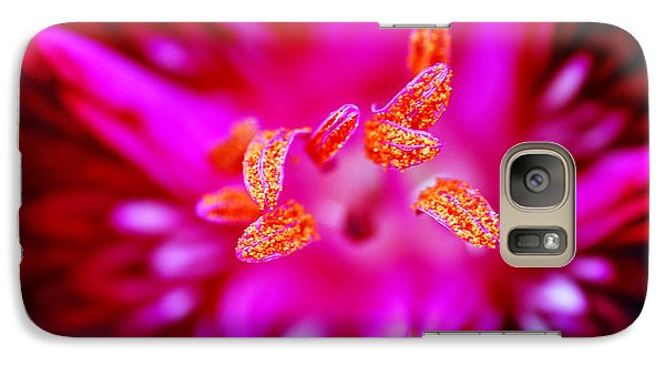 Galaxy Case featuring the photograph A Splash Of Colour by Wendy Wilton