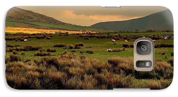 Galaxy Case featuring the photograph A Spot Of Sunshine by Barbara Walsh