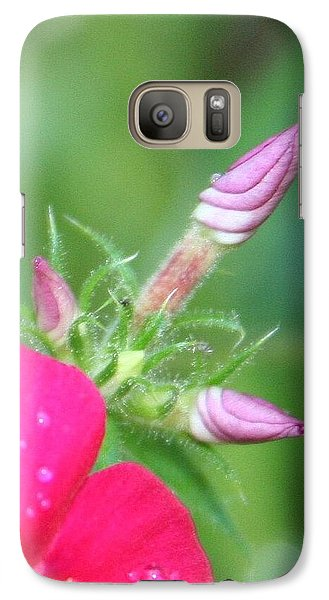 Galaxy Case featuring the photograph A Star Is Born by Debra Kaye McKrill