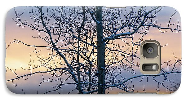 Galaxy Case featuring the photograph A Stillness At The Close Of The Day by Brian Boyle