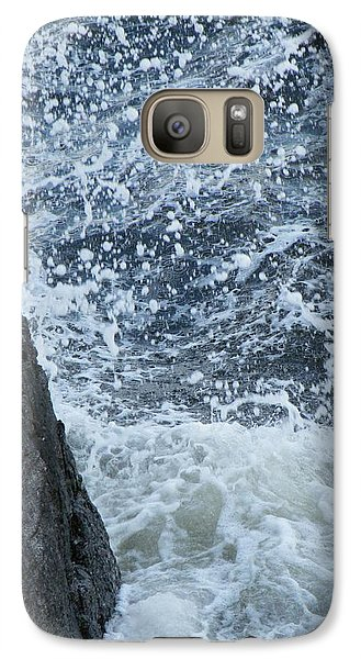 Galaxy Case featuring the photograph A Stillness In The Storm  by Brian Boyle