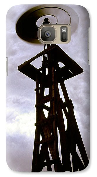 Galaxy Case featuring the photograph A Storm This Way Comes by Jason Politte