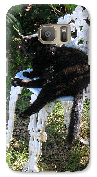 Galaxy Case featuring the photograph A Study In Contrast by Wendy Coulson