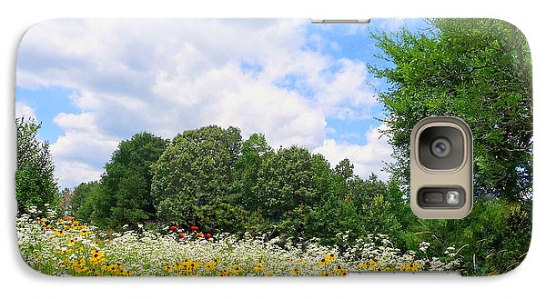 Galaxy Case featuring the photograph A Summer Meadow by Jim Whalen