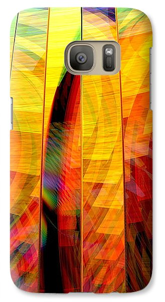 Galaxy Case featuring the digital art A Sunny Autumn Day  by Andreas Thust