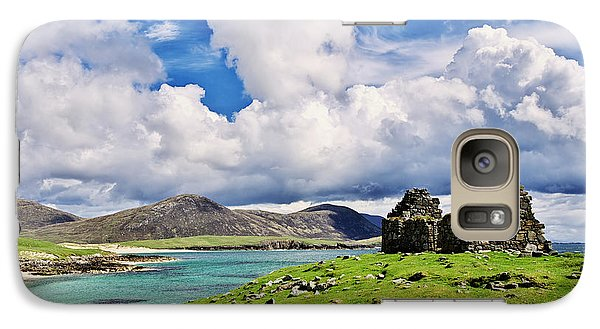 Galaxy Case featuring the photograph A Sunny Day In The Hebrides by Juergen Klust