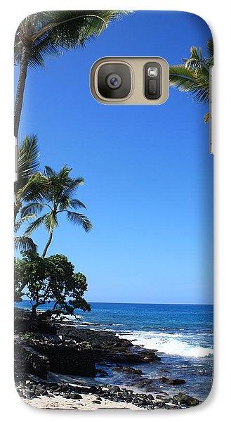 Galaxy Case featuring the photograph A Sunny Hawaiian Day by Karen Nicholson