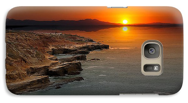 A Sunset Galaxy S7 Case by Lynn Geoffroy