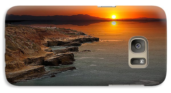 Galaxy Case featuring the photograph A Sunset by Lynn Geoffroy