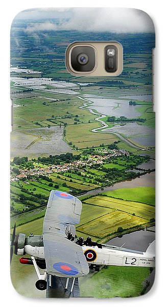 Galaxy Case featuring the photograph A Swordfish Aircraft With The Royal Navy Historic Flight. by Paul Fearn