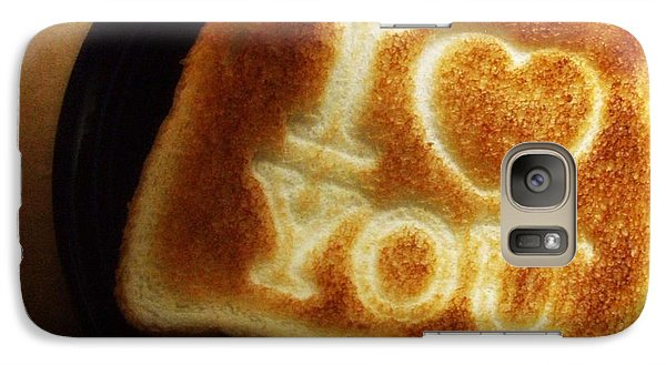 Galaxy Case featuring the photograph A Toast To My Love by Kristine Nora