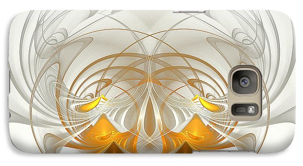 Galaxy Case featuring the digital art A Touch Of Color  by Linda Whiteside