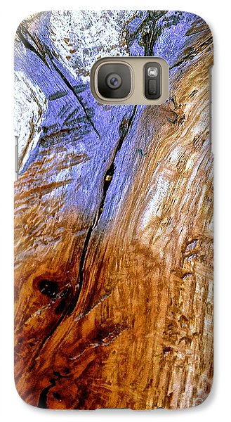 Galaxy Case featuring the digital art A Touch Of Mauve by Delona Seserman