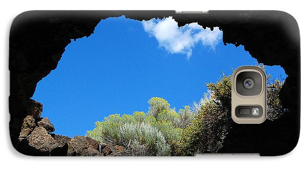 Galaxy Case featuring the photograph A Touch Of Sky by Debra Thompson