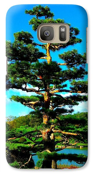Galaxy Case featuring the photograph A Tree... by Tim Fillingim