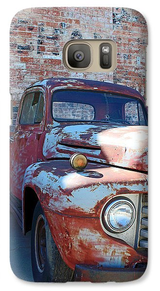 Galaxy Case featuring the photograph A Truck In Goodland by Lynn Sprowl