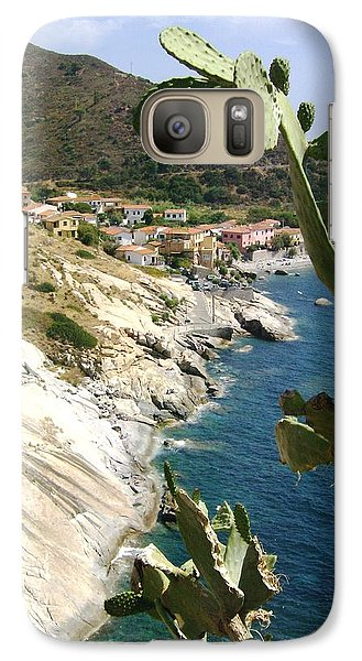 Galaxy Case featuring the photograph A Typical Bay Of Elba Island by Giuseppe Epifani
