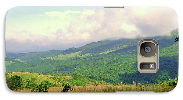 Galaxy Case featuring the photograph A View From Smith Mt. by Jim Whalen