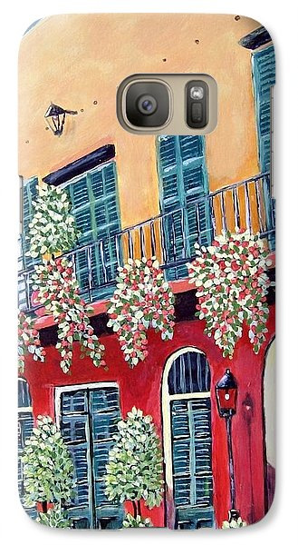 Galaxy Case featuring the painting A Visit To New Orleans by Suzanne Theis
