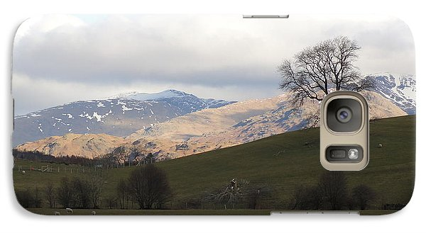 Galaxy Case featuring the photograph A Walk In The Countryside In Lake District England by Tiffany Erdman
