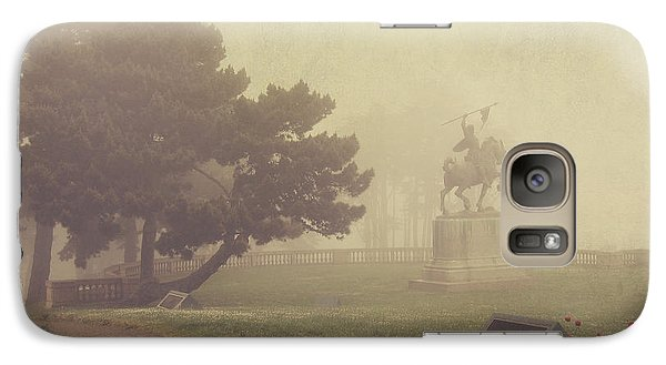 Garden Galaxy S7 Case - A Walk In The Fog by Laurie Search