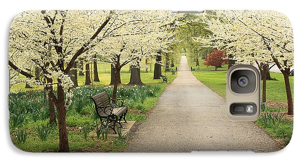 Galaxy Case featuring the photograph A Walk In Tower Grove by Scott Rackers
