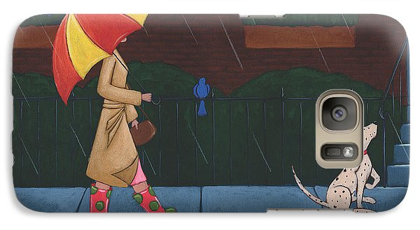 A Walk On A Rainy Day Galaxy S7 Case