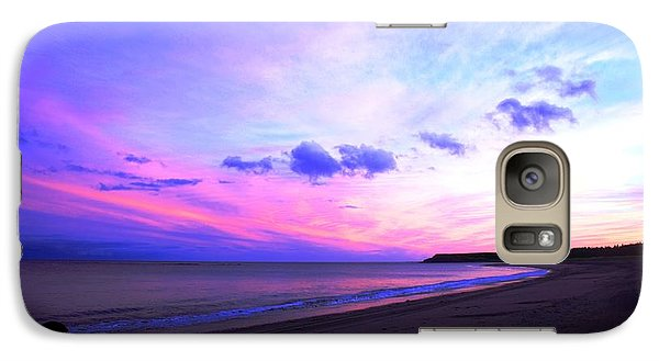 Galaxy Case featuring the photograph A Walk On The Beach by Jason Lees