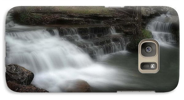 Galaxy Case featuring the photograph A Walk Through The Forest by Renee Hardison