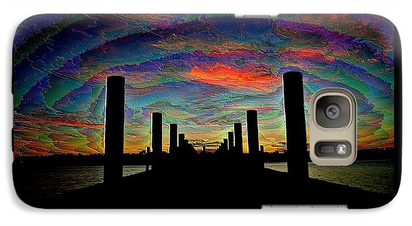 Galaxy Case featuring the photograph A Walk To Eternity by Michele Kaiser