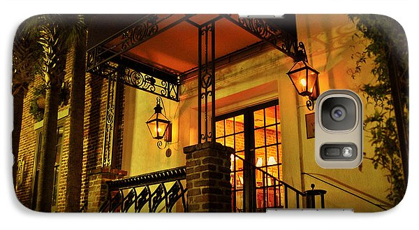 Galaxy Case featuring the photograph A Warm Summer Night In Charleston by Kathy Baccari