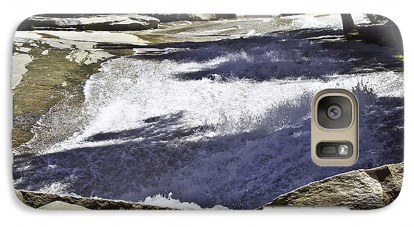 Galaxy Case featuring the photograph A Water Slide by Brian Williamson