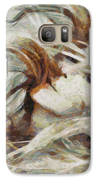 Galaxy Case featuring the painting A Wild Dance by Joe Misrasi