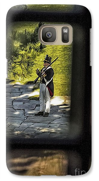 Galaxy Case featuring the photograph A Window Back In Time by Jim Lepard