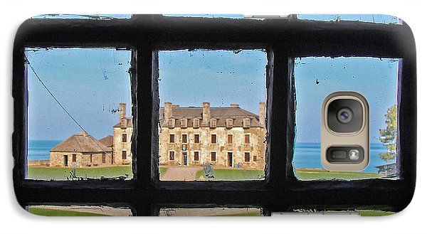 Galaxy Case featuring the photograph A Window To The Past by Kathleen Scanlan