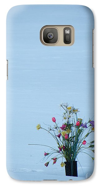 Galaxy Case featuring the photograph A Winter's Sorrow by Brian Boyle