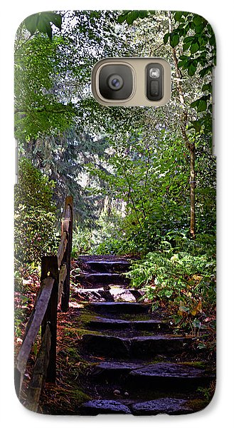 A Wooded Path Galaxy S7 Case by Anthony Baatz