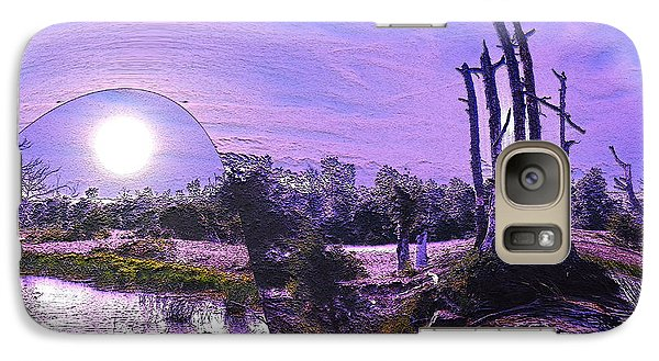 Galaxy Case featuring the photograph A World Within A World  by Yolanda Raker