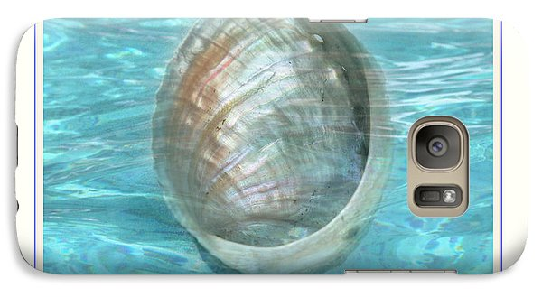 Galaxy Case featuring the photograph Abalone Underwater by Linda Olsen